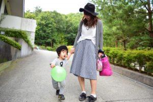 親子で歩ける安心な道です。
