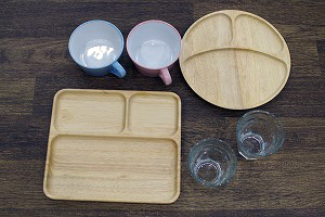 六本木レンタルスタジオの食器