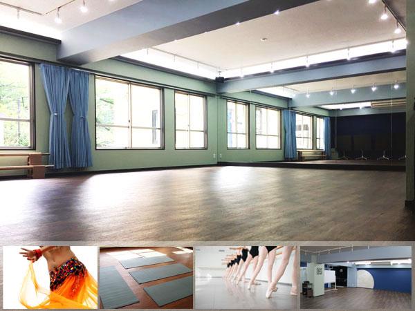 六本木 麻布十番のレンタルスペース 貸しスタジオ 教室 稽古場 道場向き